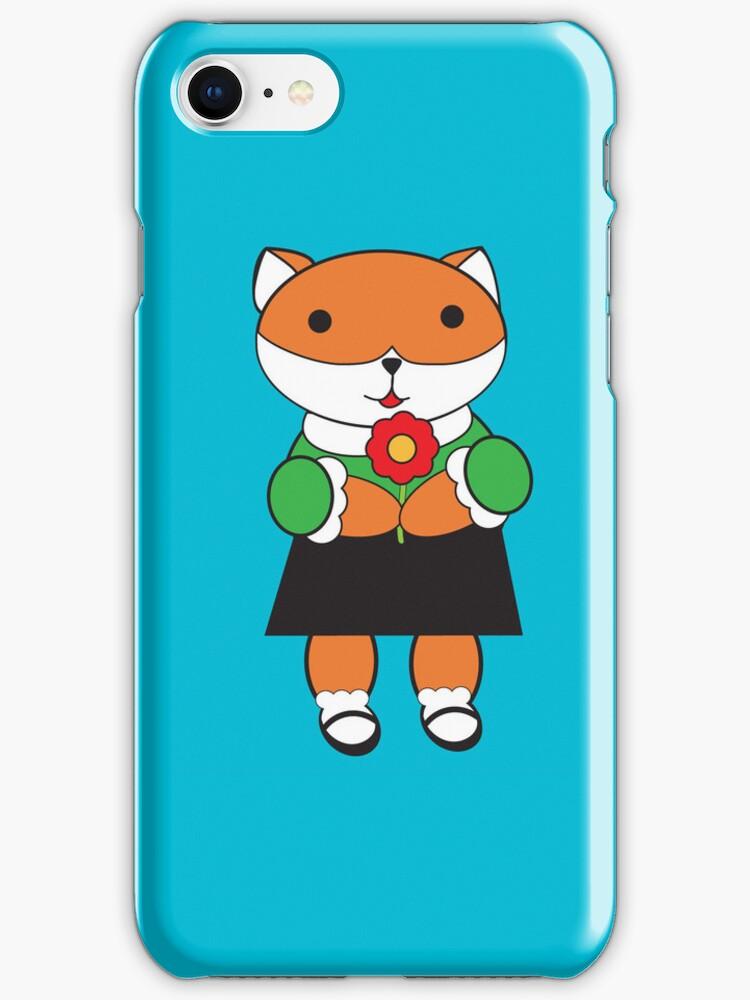 Fox in Dress by ValeriesGallery