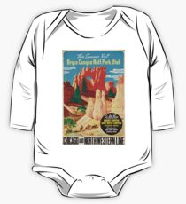 Vintage poster - Bryce Canyon One Piece - Long Sleeve