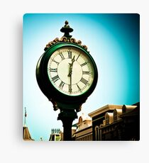 *Time Becomes... Canvas Print
