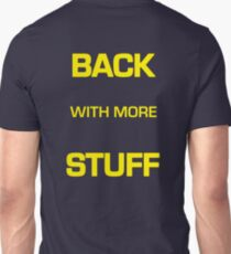 "The Gong Show Shirt- ""BACK WITH MORE STUFF"" t shirt T-Shirt"