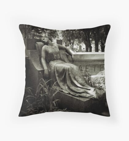I am Stretched on Your Grave Throw Pillow