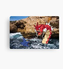 Pokemon in real life Canvas Print