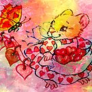 COLLECTING VALENTINES by Tammera