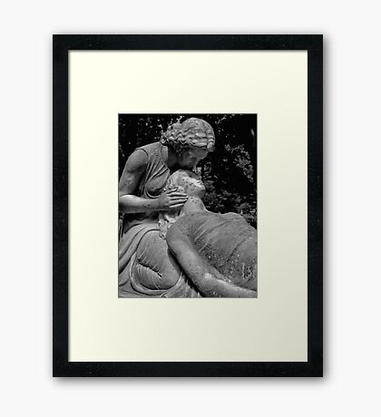 Loves Last Embrace Framed Print