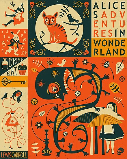 ALICE IN WONDERLAND by JazzberryBlue
