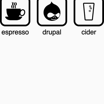 Espresso, Drupal & Cider by cafuego