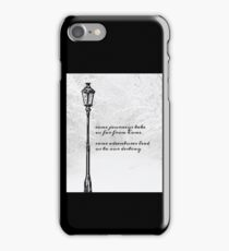 Narnia Lamp Post iPhone Case/Skin