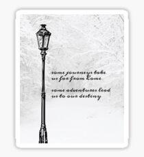 Narnia Lamp Post Sticker