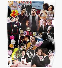 Klaine Collage Poster