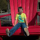 Red Chair by Michael McCasland