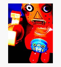 robot fly with me Photographic Print