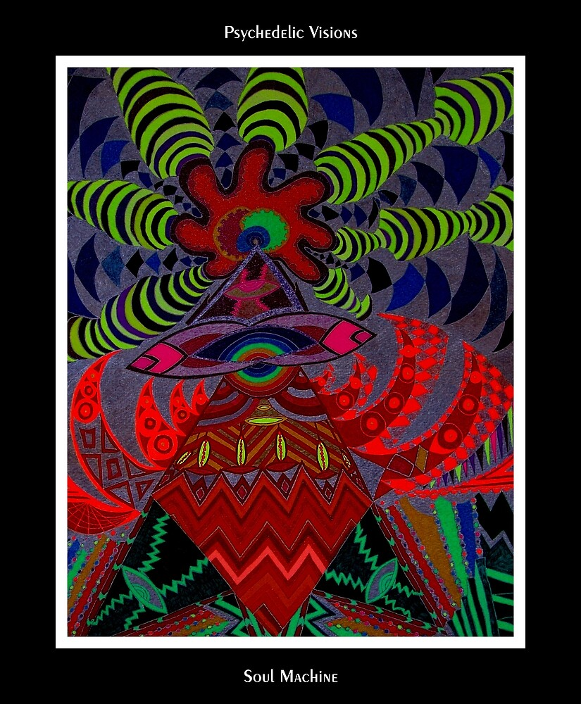 Soul Machine Black Ligth by MonicaDias