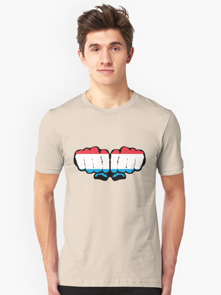 Luxembourg Unisex T-Shirt Front