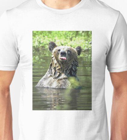 """""""I Don't Care"""" Bear  Card T-Shirt"""
