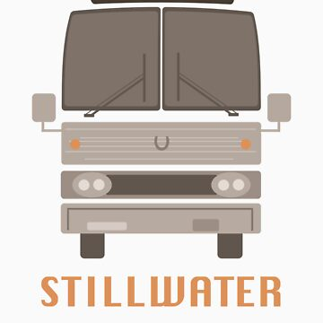 Almost Famous Stillwater Tour Bus by guiltycubicle