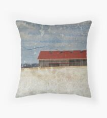 Wintertime Scene Throw Pillow