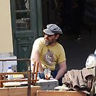 Street Market 2-Frappe Break by Francis Drake