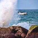Coastline Fishing by Tracy Riddell