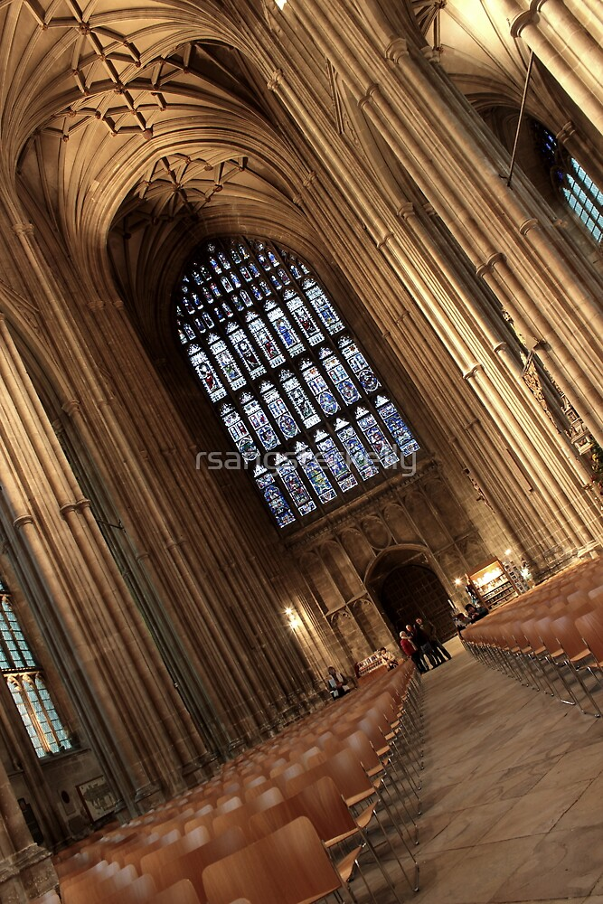 Canterbury Cathedral - The Nave 2 by rsangsterkelly