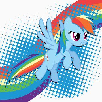 Rainbow DASH! by misslelia