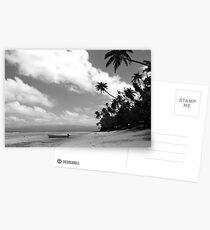 Paradise in Black & White Postcards