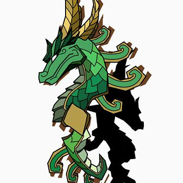 Jade Serpent (offset) by Sirkib