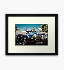 Morgan Aero 8 Sports - Sealy Lookout, Coffs Harbour Framed Print