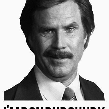 Hi! I'm Ron Burgundy by dannyphoto