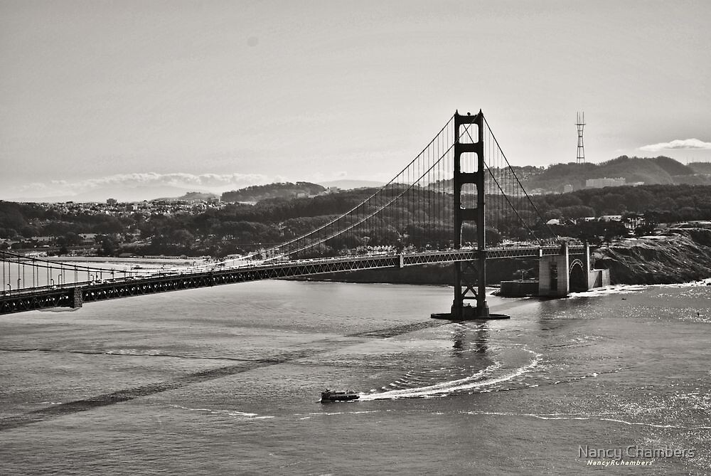 Boating Under The Golden Gate by NancyC