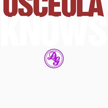 Discreetly Greek - Osceola Knows - Nike Parody by integralapparel