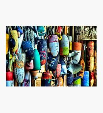 Buoys and Props Photographic Print