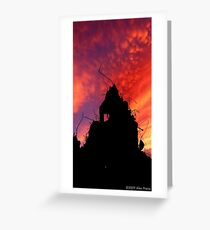 Urban Scape Greeting Card