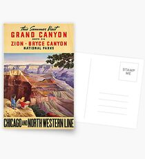 Vintage poster - Grand Canyon Postcards