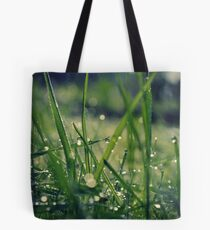 Dew grass Tote Bag