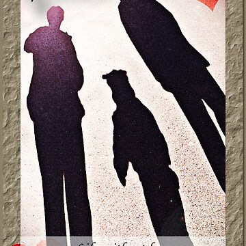 Family Shadows Valentine's Day Greeting by DwCCreations