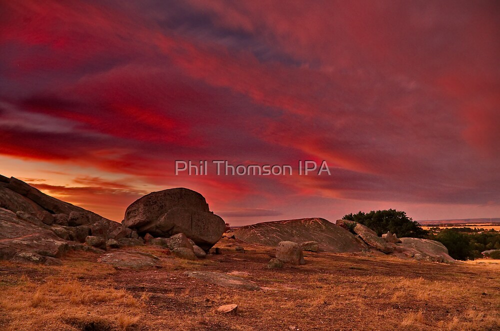 """A Summer's Sundown At The Rocks"" by Phil Thomson IPA"