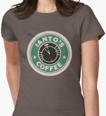 Torchwood - Ianto's coffee Women's Fitted T-Shirt