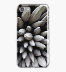 Wooden poles iPhone Case/Skin
