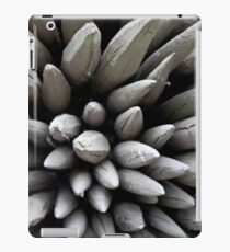 Wooden poles iPad Case/Skin