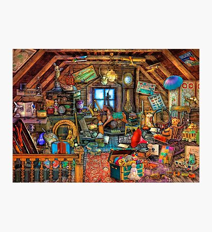 Grandma's Attic Photographic Print
