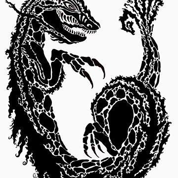 Dragon Pattern by Obzsidan