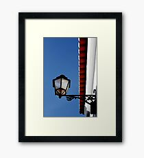 Sun Light Framed Print