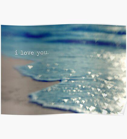 valentine - i love you Poster