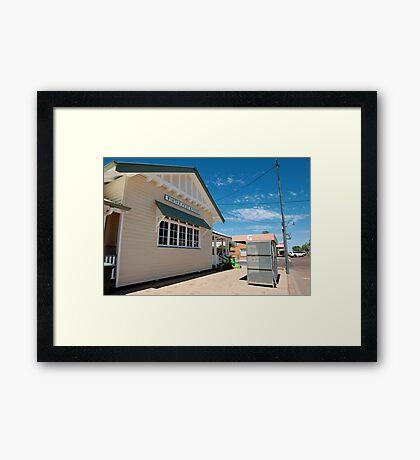 winton post office Framed Print