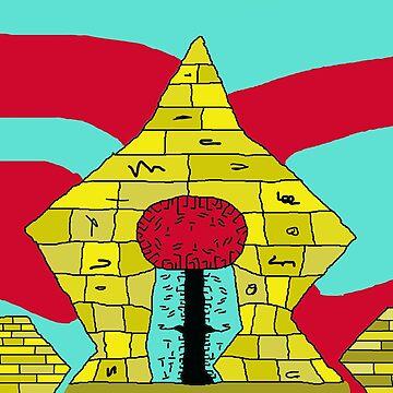 pyramids by ArtNaive