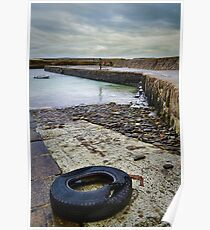 Castletown Harbour Poster