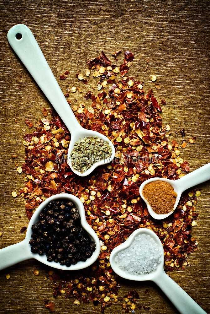spices.. by Michelle McMahon