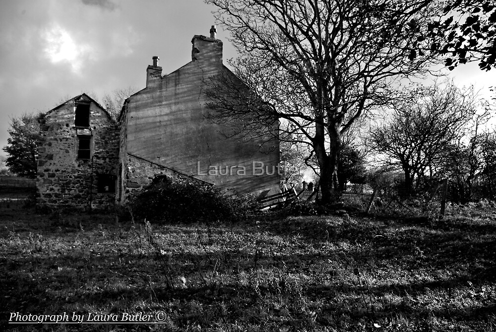 Clovervale, Abandoned Country House, County Antrim by Laura Butler