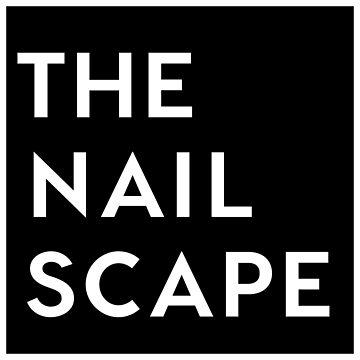 The Nailscape Square Wordmark by thenailscape