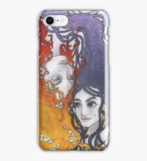 Antara and Meridian: Fire and Darkness iPhone Case/Skin